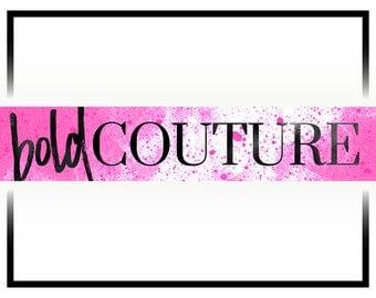 Premade Pink Youtube Banner Design   Youtube Header Design   Fashion Logo Design   Beauty Vlog Banner   Vlog Cover Design   Youtube Cover