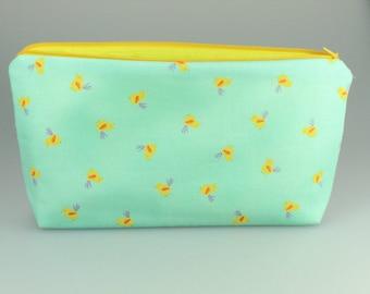 Little bird Zip Bag / Pouch