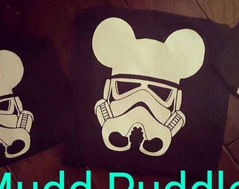 Disney Storm Trooper Boy's tank or Tee