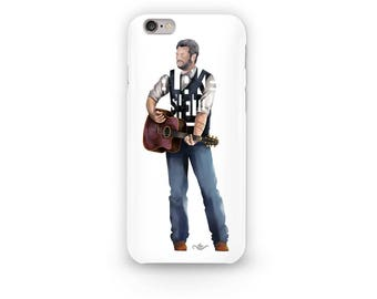 Blake Shelton Phone Case Design of Famous Country Singer and Song-writer Blake Shelton. Judge on the Voice and Gwen Stefanie's Husband