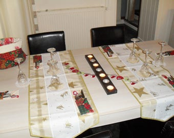 sets of Christmas table decoration