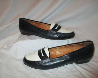 Ralph Lauren two tone penny loafers