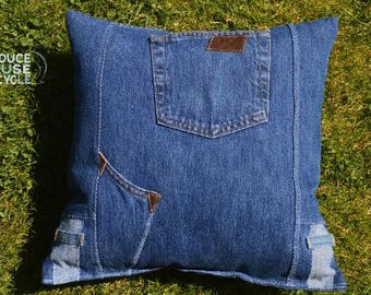 Denim Pillow17 x17 inches
