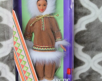 1996 Barbie Dolls of the World Arctic #16495