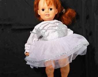 Vtg Lifesize Baby Crissy Doll Ideal Toy Corp 1972 GHB-H-225 Red Hair 24""