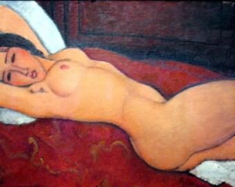 Modigliani 'Lying naked' placemat