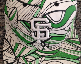 San Francisco Giants MLB Baseball Hat in Green Black and White