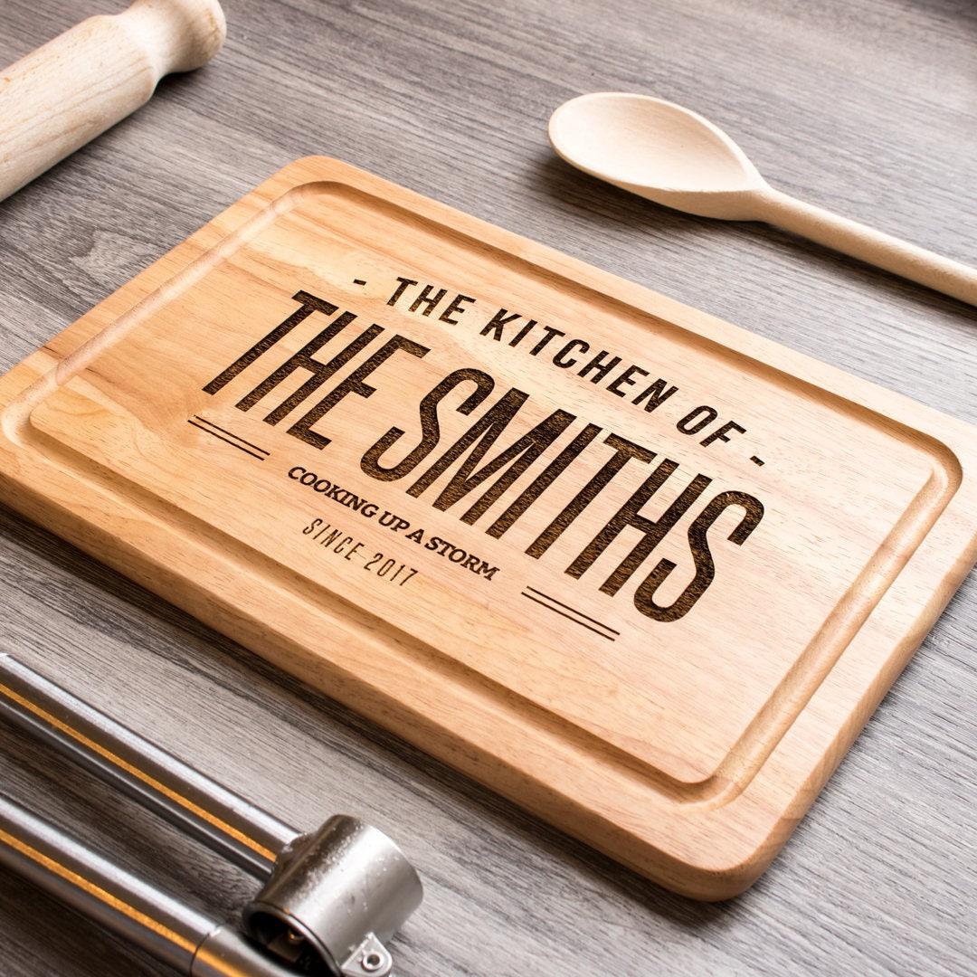Personalized Cutting Boards ~ Custom cutting board personalised chopping