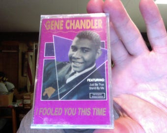 Gene Chandler- Fooled Me This Time- new/sealed cassette tape