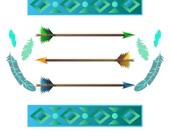 Tribal Graphics Mash-up