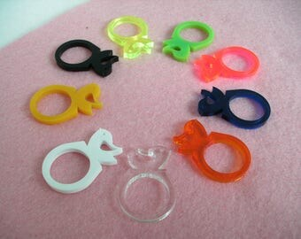 Ring, bird-free color & size choice