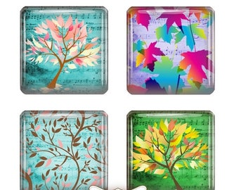 80 % off Graphics SaLe Musical Trees 1 Inch Digital Collage Sheet 1 inch Square Scrabble Tile Images for Scrabble Tiles, Resin Pendants Glas