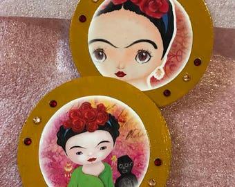 La Nina Frida Magnets set/2