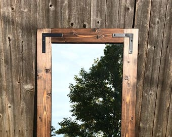 Mirror, Wall Mirror, Rustic Mirror, Farmhouse Decor, Bathroom Mirror, Full Length Mirror, Wood Mirror, Floor Mirror, Vanity Mirror, Mirrors