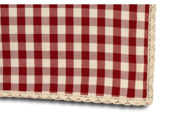 Rectangle tablecloth 150 X 250 with lace
