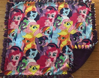 My Little Pony fleece throw blanket