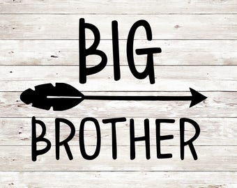 Big Brother SVG, Big Brother cut file, Big Brother svg, Silhouette Cameo Cut Files, Silhouette Cameo SVG, Circut Cut file, Circut, Svg Sale
