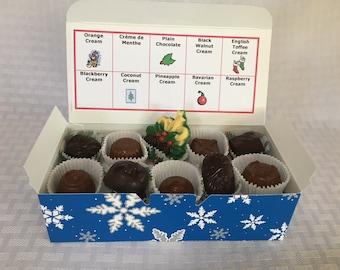 Christmas 1 lb. Boxed Chocolates