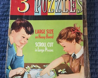 3 Frame Tray Puzzles by Whitman Publishing