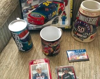Jeff Gordon #24 NASCAR Memorabilia