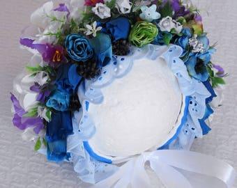 Angela Floral Bonnet
