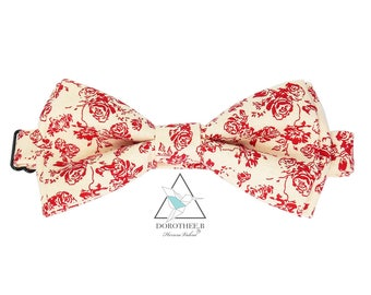 """Bow-tie """"Victorien"""" Sewn hand in small series"""