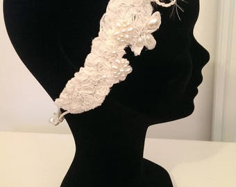 "Headband couture Collection ""Small Danteliere"""