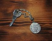 Big Silver Fiorino keycha...