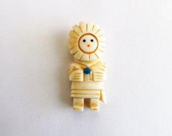Sun Face Kachina Pendant