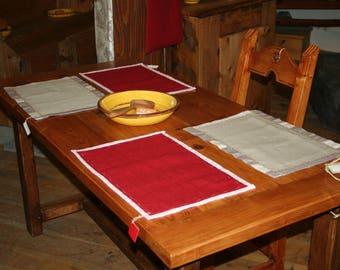place mats - set of 4-
