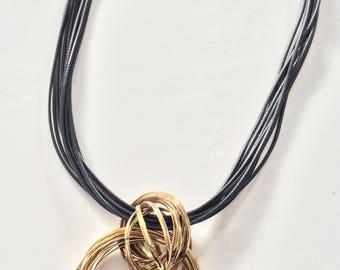 Fiery Rings, Statement Necklace, Blogger Necklace, Blogger Fashion, Statement Fashion, Fashion Jewelry, Fancy Jewelry, BIB Necklace
