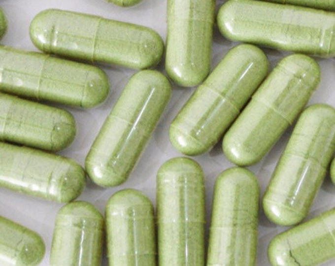 Nettle Leaf Capsules - Certified Organic