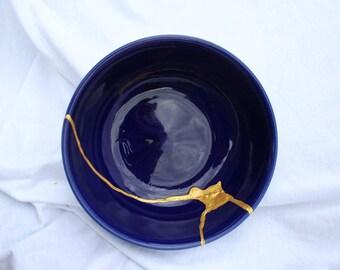 Tranquil Gleam V3 Kintsugi Kintsukuroi Bowl
