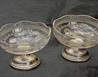 Very Rare George V 1910 Desert Dishes