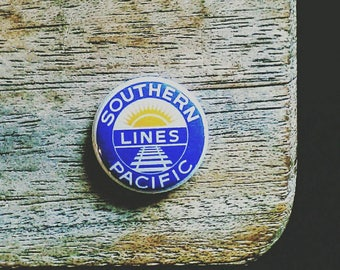 Southern Pacific Lines 1inch button