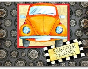 Card, drivers license congratulations congratulations 21cm x 15cm