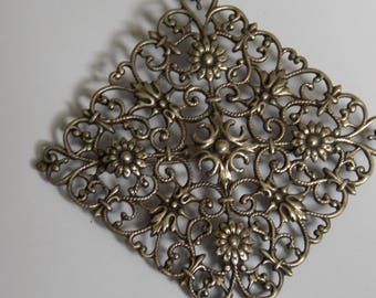 antique silver early 20 th vintage jewelry brooch