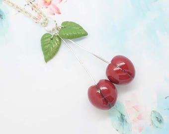 Necklace cherry treats