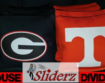 House Divided UGA / Tennessee Vols Cornhole Bags  Ships 1-2 Days Receive Promo Code for 10% off when you Favorite this Shop