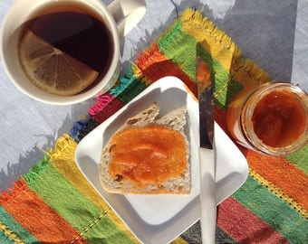 Mini jam jar favors foodie gift purple pear fruit butter fruit butter carrot cake foodie gifts preserves carrots and pears gourmet negle Choice Image