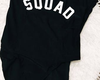 squad swimsuit order