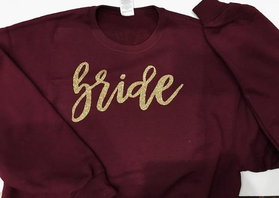 Custom Bride Crewneck Sweater | Bride Sweatshirt