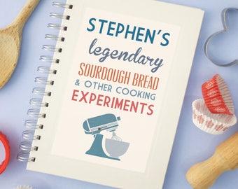 Personalised Communique Cooks Notebook