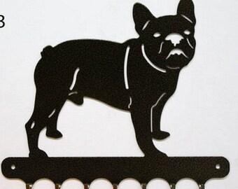 Hangs 26 cm pattern metal keys: french bulldog