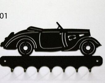 Hangs 26 cm pattern metal keys: Peugeot 301 convertible