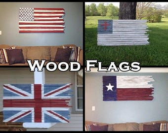 American Flag Wall Hanging american flag wood american flag wood flag american flag