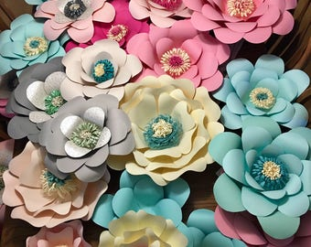 Spring is in the Air Paper Flowers!