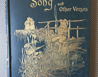 Coridon's Song and other Verses Decorative Binding Illustrated
