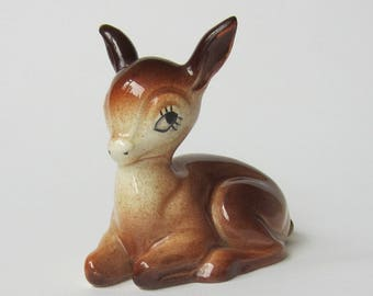 Kitsch 1950 s Fawn Deer by Weatherby