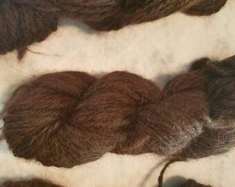 Handspun alpaca yarn bulky
